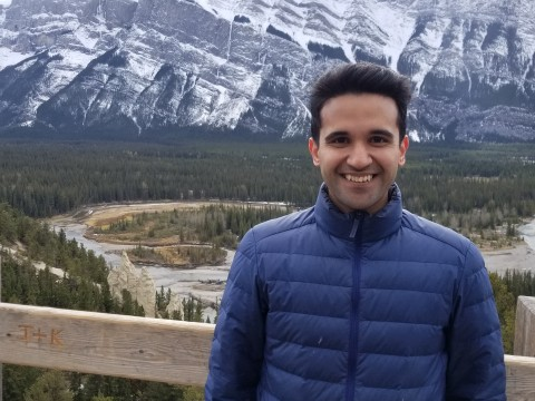 Photo of Anand Deopurkar in Banff, Canada